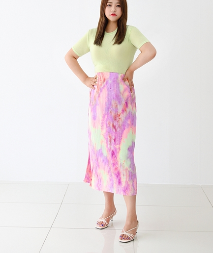 gradation water Skirt