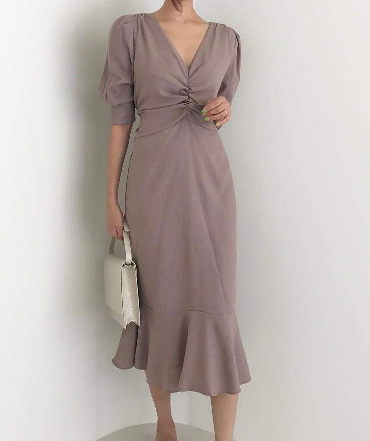 Love String Loose Fit Midi Dress