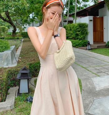 Melody Pintuck Dress