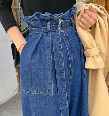 Nicole Wide Belt Pants