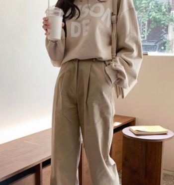 Maxi Cotton Wide Pants