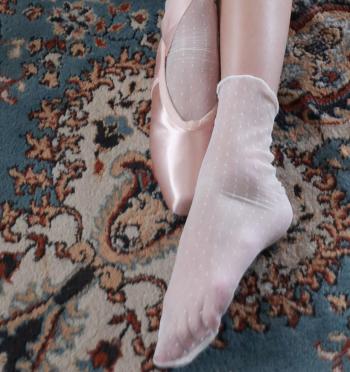 Taro Dot Socks
