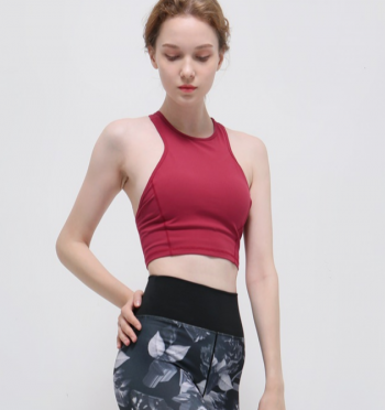 Exciting Crop Top - Red-berry