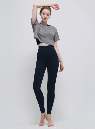 New Wave Holic Crop - Gray