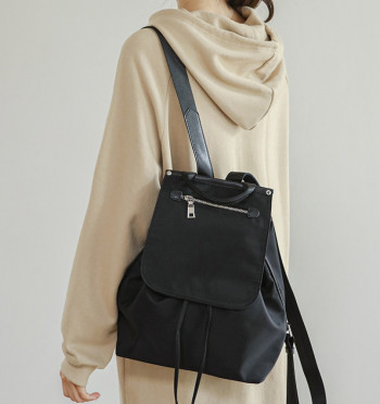Terad String-Open Backpack
