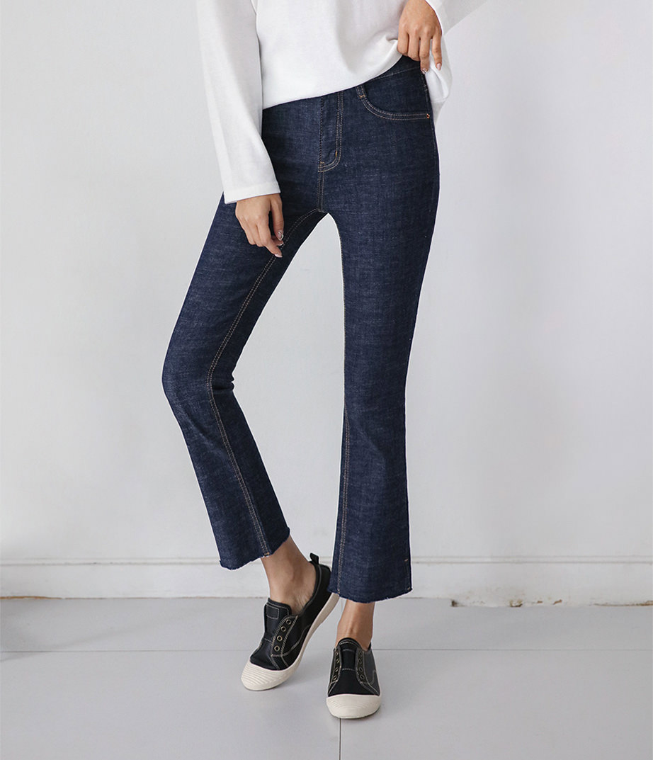 Easy transform bootcut jeans