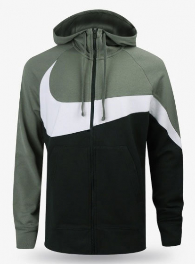 19FW NSW Statement HBR French Terry Full-zip Hoodie (AR3084-351)