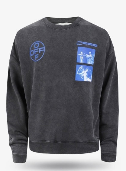 19FW Hardcore Caravaggio Overfit Sweatshirt