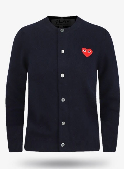 19New Red Heart Wappen Wool Cardigans (P1N007)