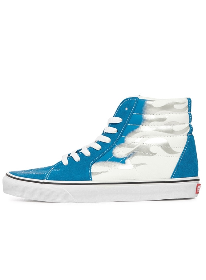 VANS SK8-HI FLAME MEDITERRANIAN BLUE/TRUE WHITE