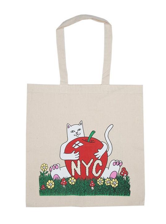 RND0477N New York Tote Bag-Natural