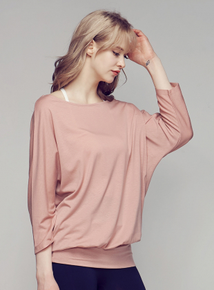 Essence Cover Up Tensel T-shirt - Old Rose
