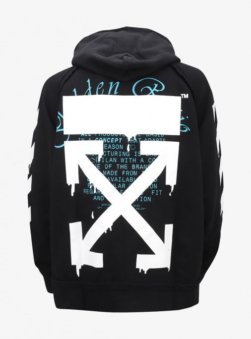 20SS Dripping Arrow Hoodie (OMBB057R20E300051001)