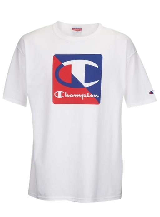 Champion Graphic Short Sleeve T-Shirt - White PROD10500