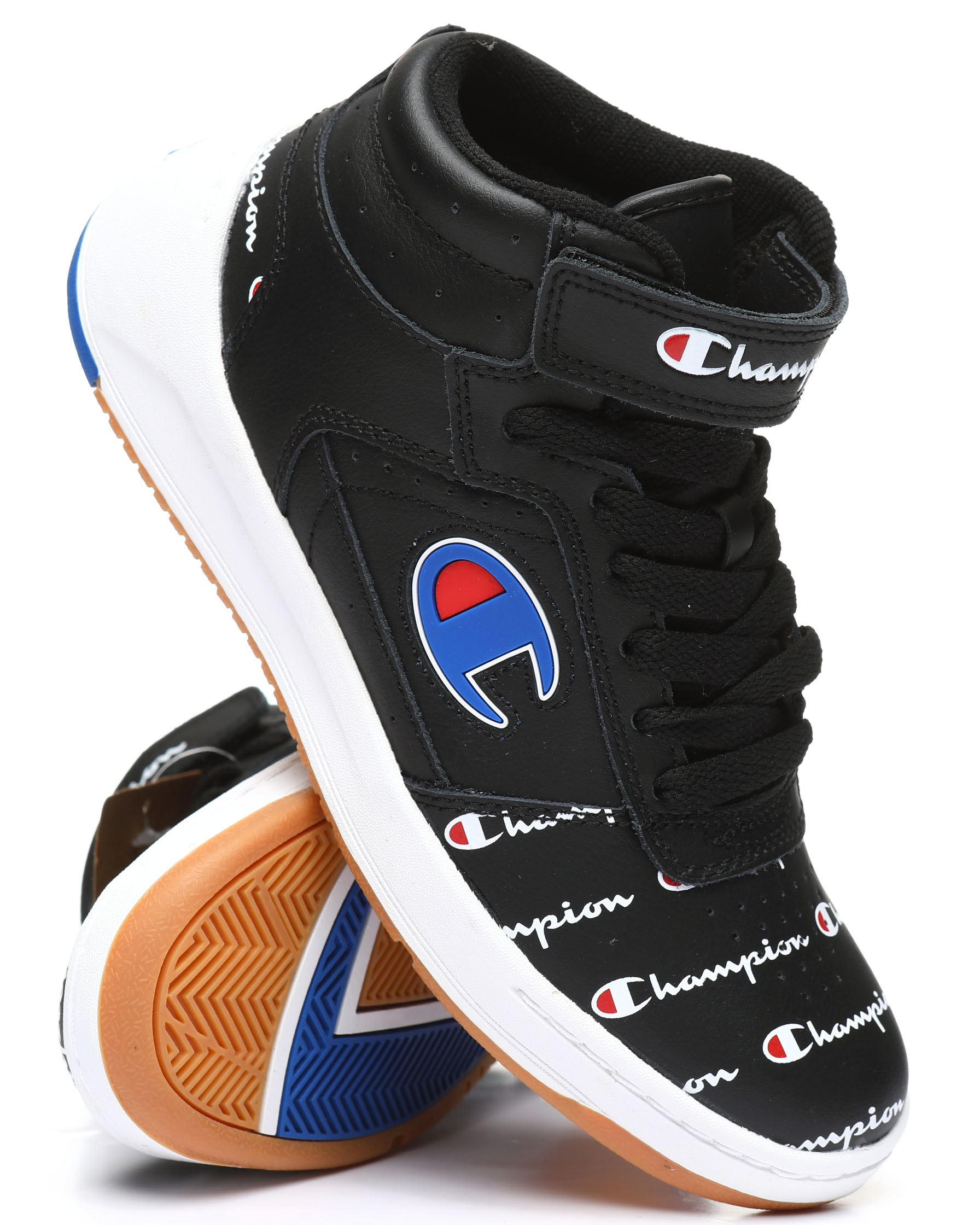 Champion Super C Court Leather Print Sneakers 1200085430