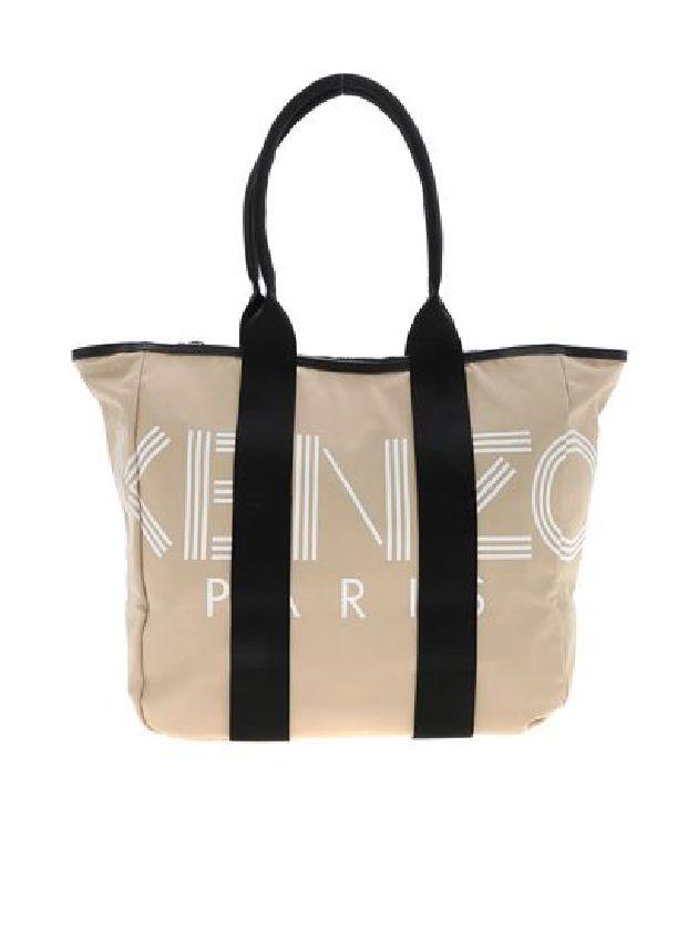 19FW KENZO WOMEN TOTE BAG BEIGE (2336518)