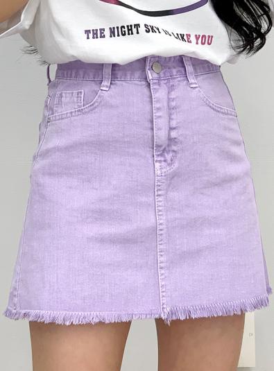 Light and Refreshing Cotton Skirt