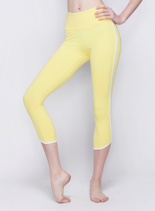 Dolphin line part 8 leggings-  Yellow