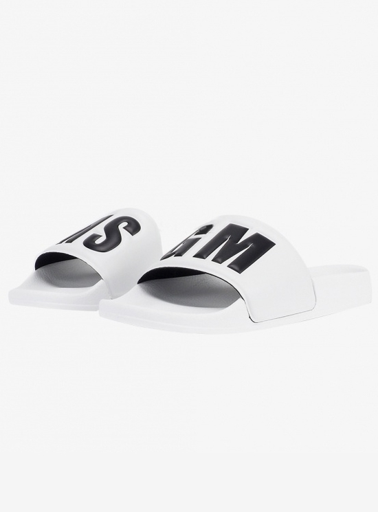 MSGM 20SS Embo LOGO Slipper (2840MS15100 300 01)