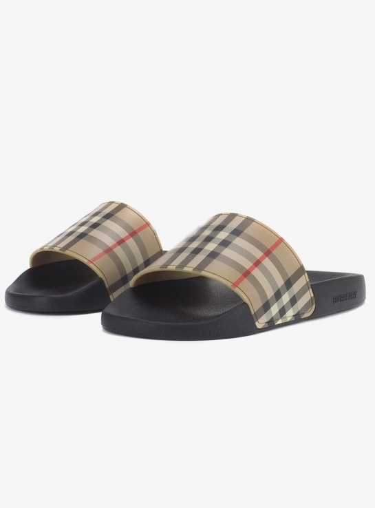 BURBERRY 20SS Vintage Check Slides (8023965)