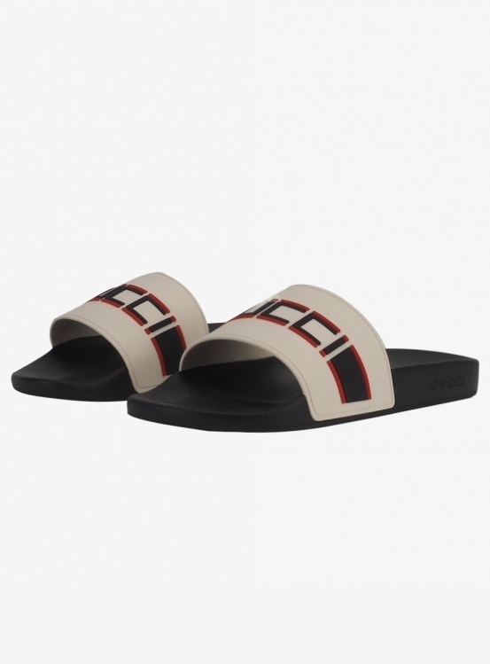 GUCCI Stiper Slides (522884 JC200 9572)