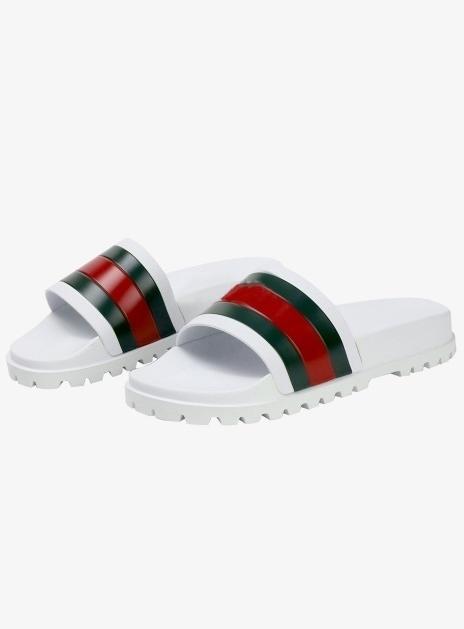 GUCCI Web Slide Sandal (429469 GIB10 9079)