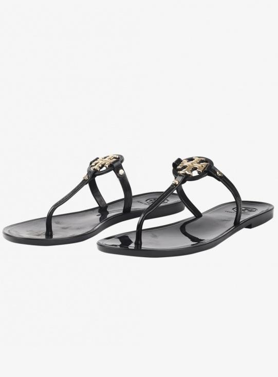 TORY BURCH Mini Miller Flat Thong Sandal (51148678-001)