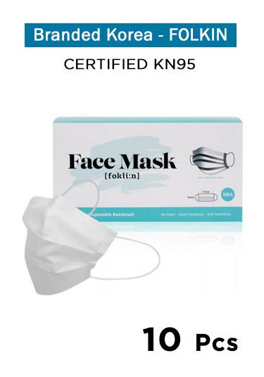 Foklin. Face Mask - KN95 (10 Pcs)
