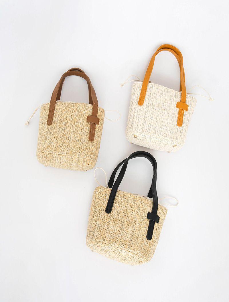 Debretan Rattan Color Handbag