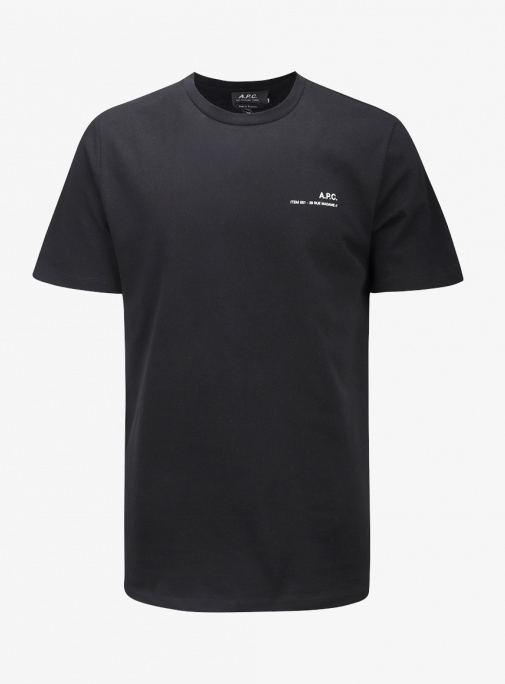 20SS A.P.C Item T-shirt BLACK (COEAW H26904)