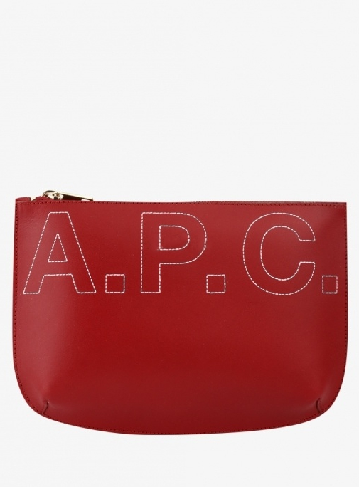 A.P.C Sarah Pouch RED (PXAWV F63292)