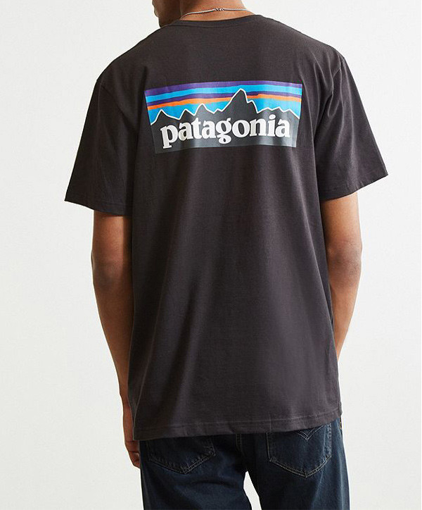 PATAGONIA P-6 Logo Responsibili-Tee - Black