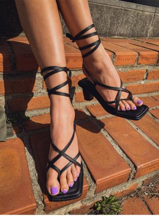Multiple Strap Heels