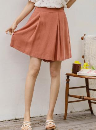 Serisu Linen Wrap Skirt