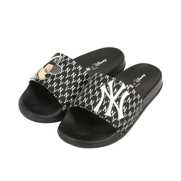 MLB x DISNEY Mound Mickey Slipper New York Yankees Black (32SHHK011-50L)