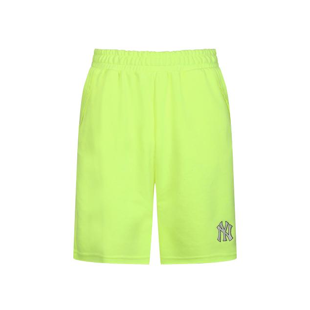 Pocket Lettering Short Pants New York Yankees Yellow (31SP08031-50Y)