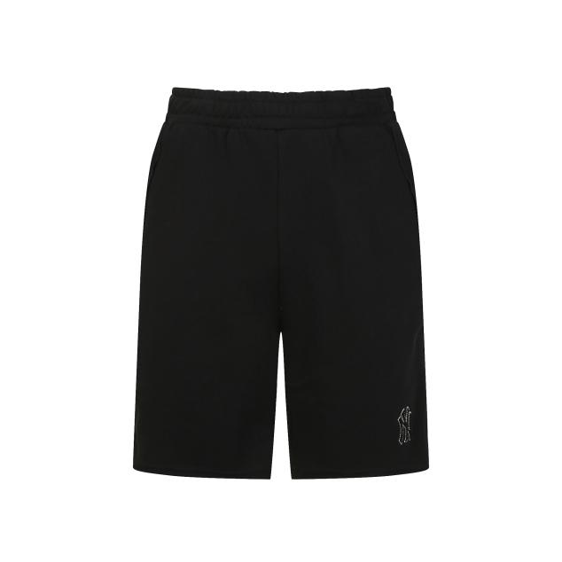 Pocket Lettering Short Pants New York Yankees Black (31SP08031-50L)
