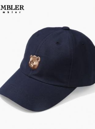 Ambler Brown Bear Ballcap (AH202_NAVY)