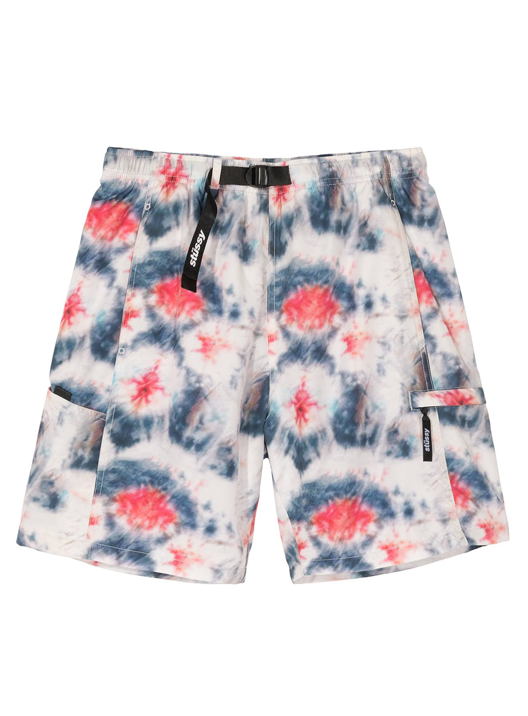 STUSSY 20SS TIE DYE SPORTS SHORT