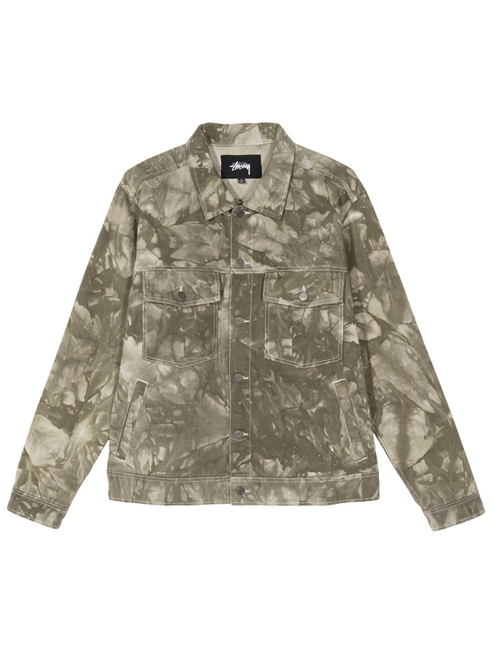 STUSSY 20SS DYED RANCH JACKET OLIVE