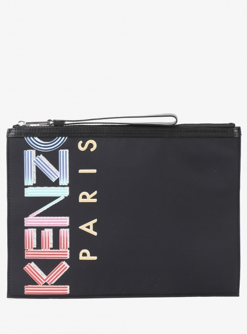 20SS NEON LETTERING LARGE POUCH (FA5 5PM202 F26 99)
