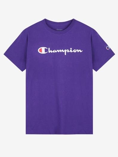 Champion GT23H Sceipt Graphic Jersey Tee (purple)