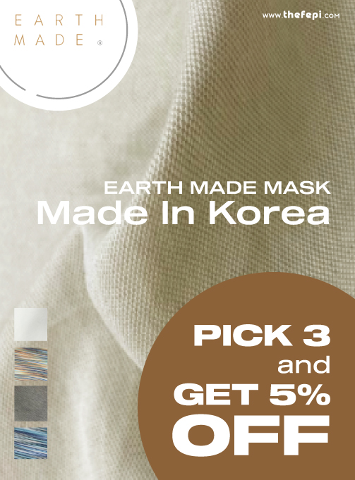 pick 3, get 5% off - earth made. mask