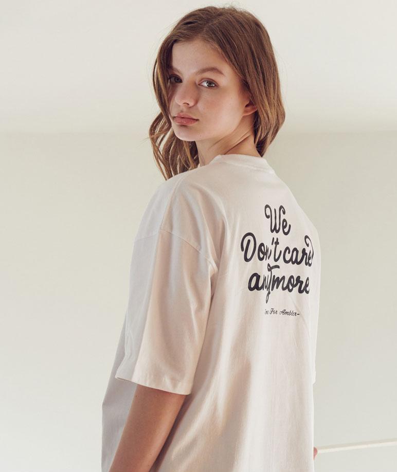 Ambler dark couple T-shirt (AS720_ WHITE)