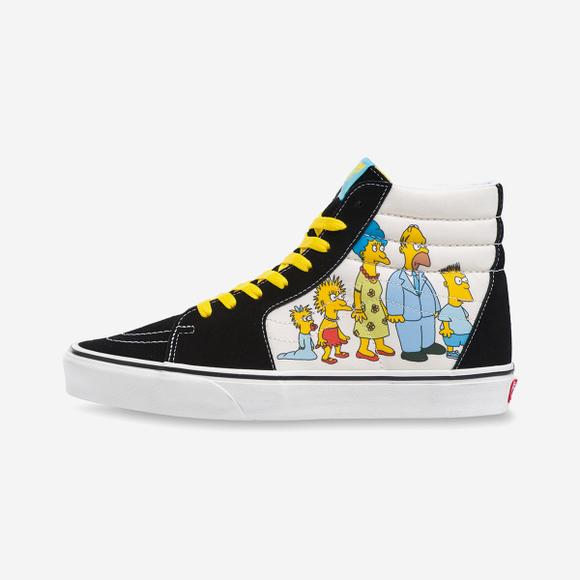 Simpsons X vans SK8-HI (VN0A4BV617E)