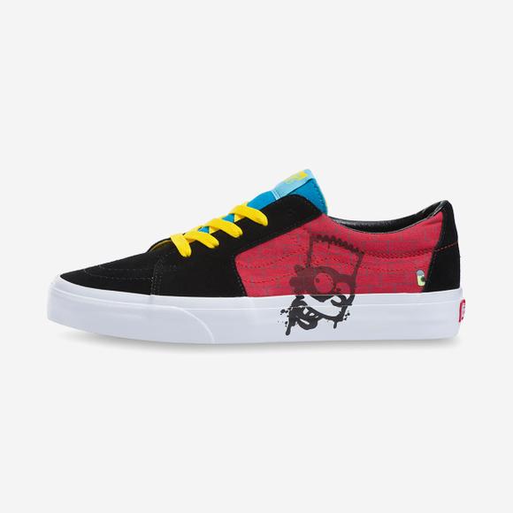 Simpsons X vans SK8-Low (VN0A4UUK17A)