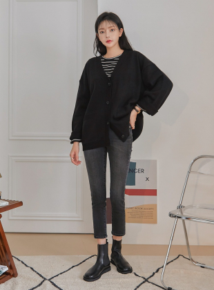 Muir Pocket Boxy Knit Cardigan