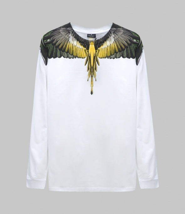 YELLOW WINGS L/S T-SHIRT (CMAB007E190010010188)