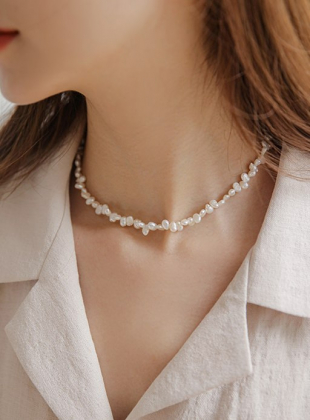 Root Irregular Freshwater Pearl Necklace