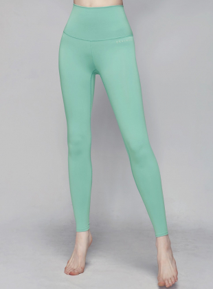 Relaxation Part 9 Leggings DEVI-B0036-Mint Green